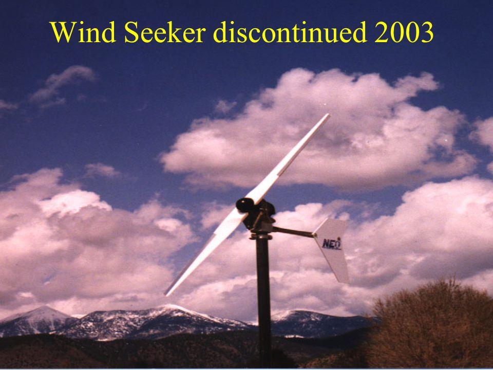 Wind Seeker discontinued 2003