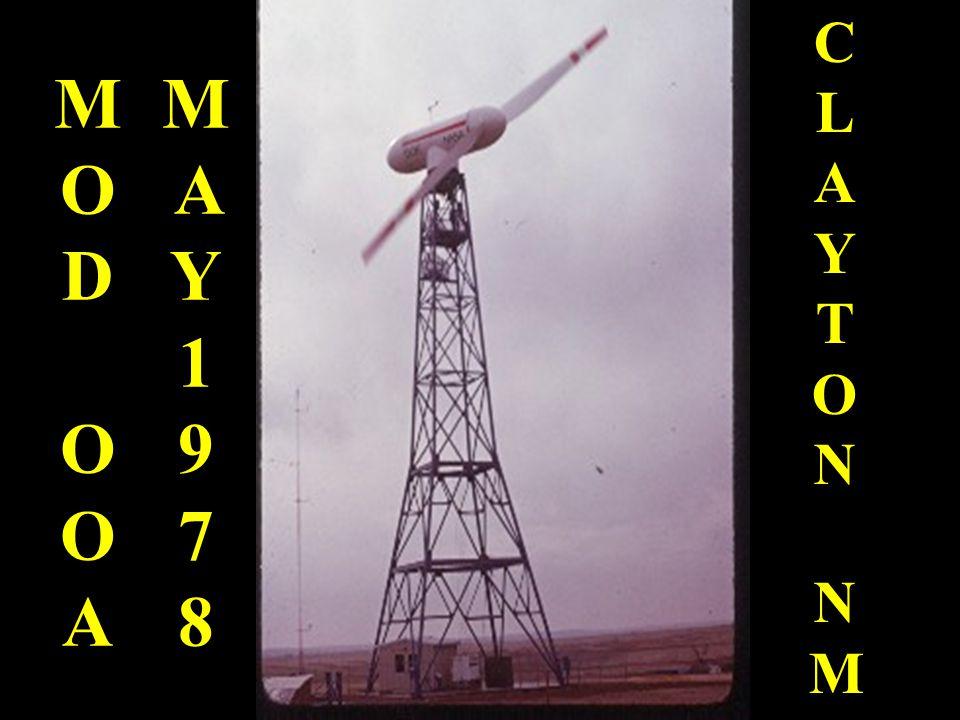 MODOOAMODOOA CLAYTONNMCLAYTONNM MAY1978MAY1978