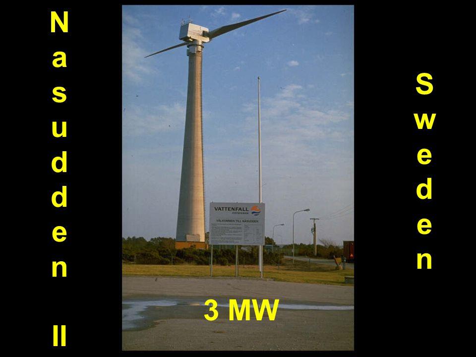 N a s u d d e n II Sweden SwedenSweden 3 MW