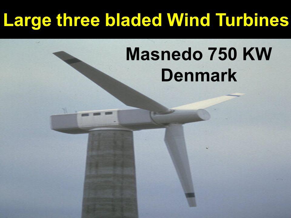 Masnedo 750 KW Denmark Large three bladed Wind Turbines