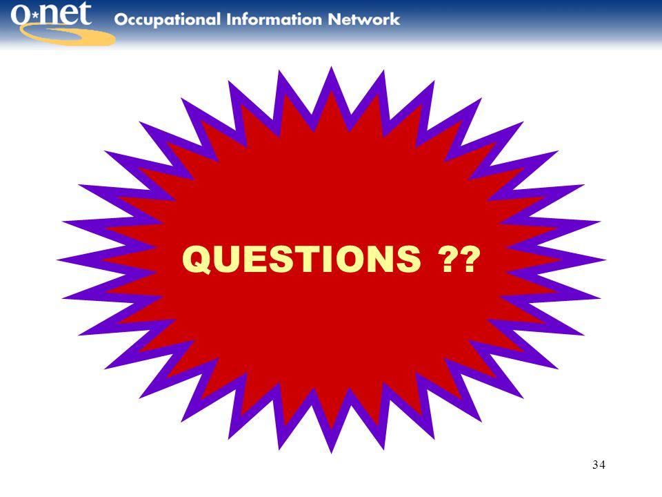 34 QUESTIONS ??