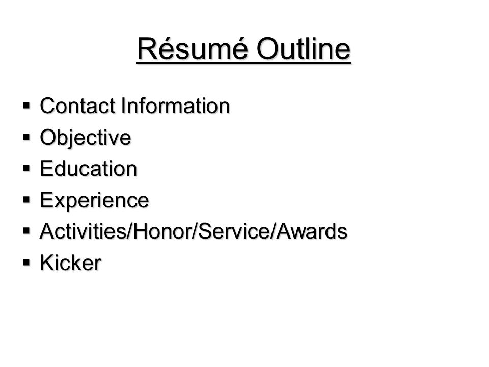Education Paragraph  Refer reader to your resume.