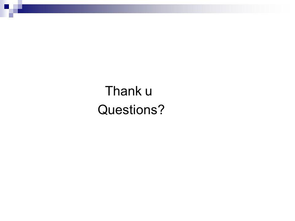 Thank u Questions