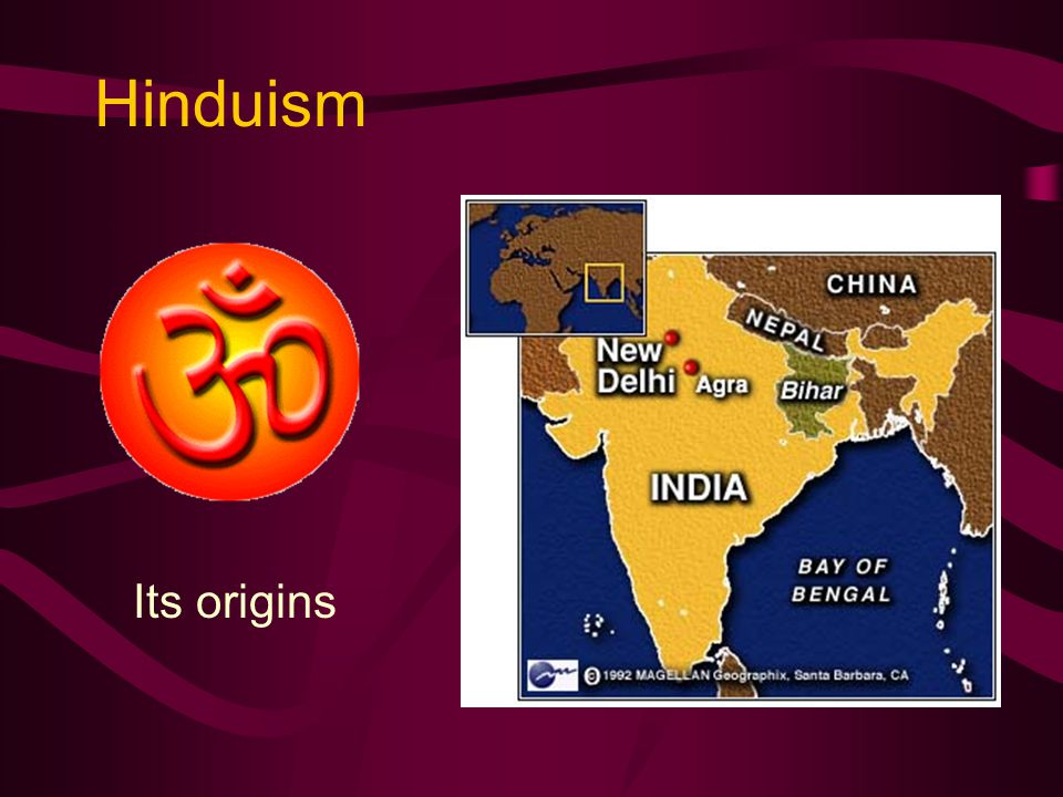 Hinduism Its origins