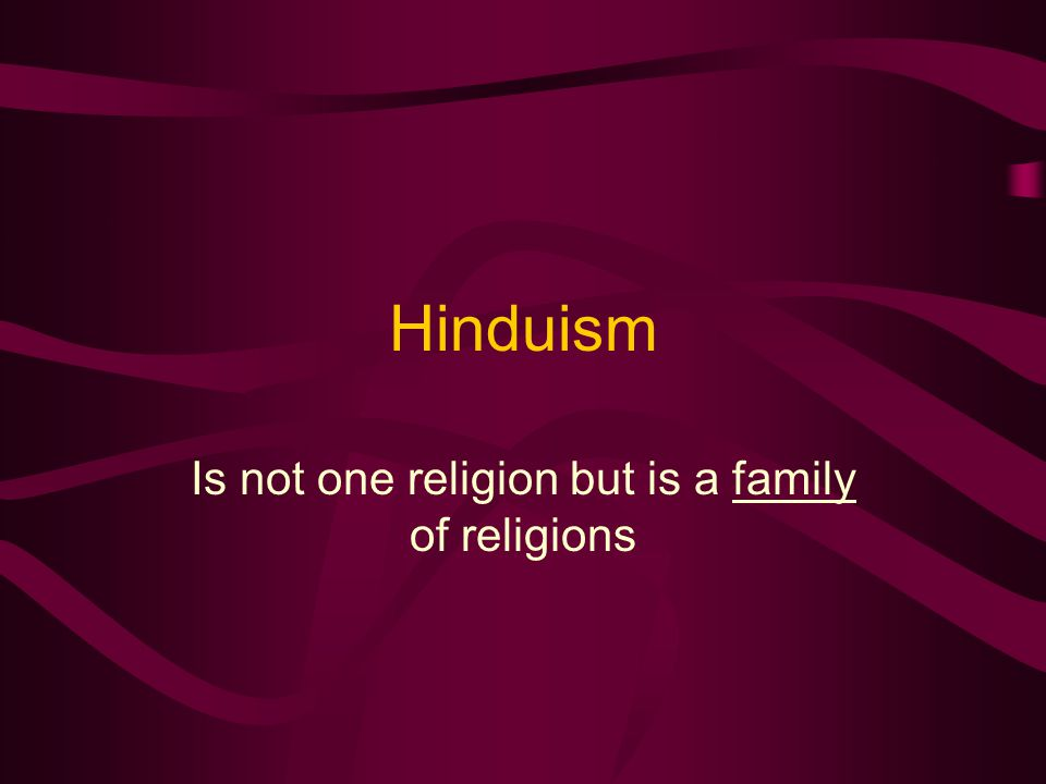 Hinduism development India and Hindu derived from the same word--Indus.