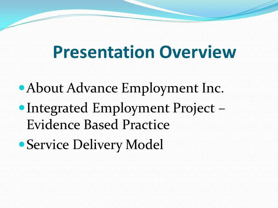About Advance Employment Inc.