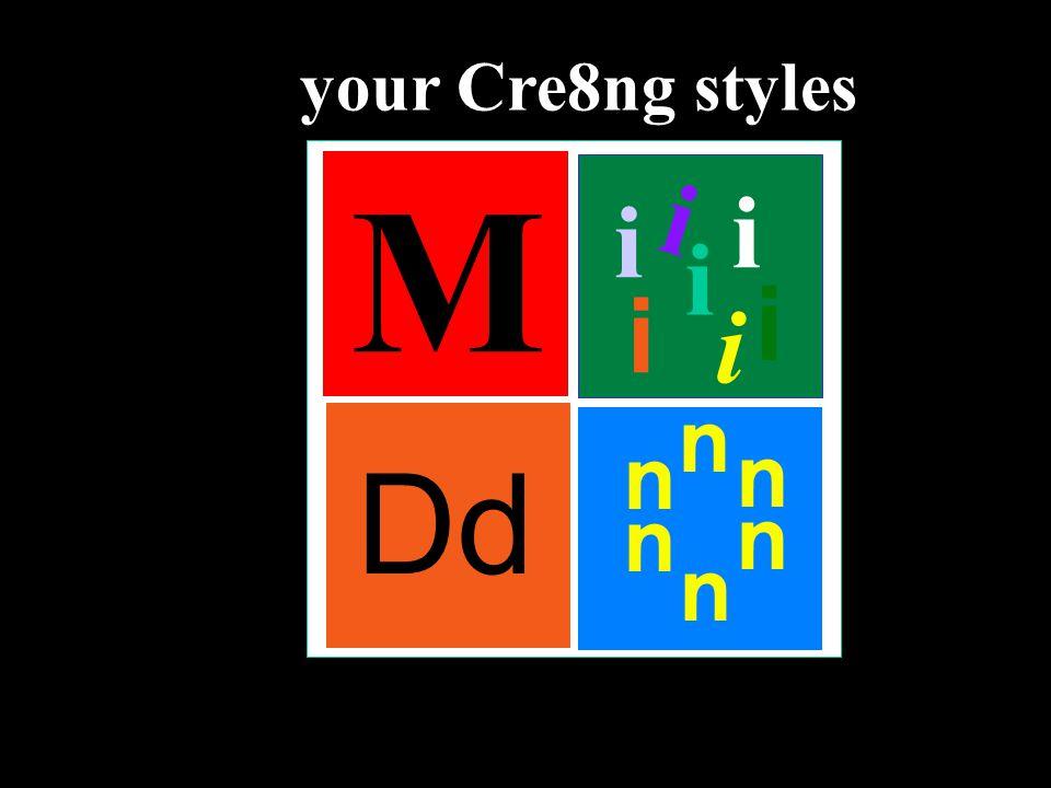 i M Dd n n n n n n i i i i i i your Cre8ng styles