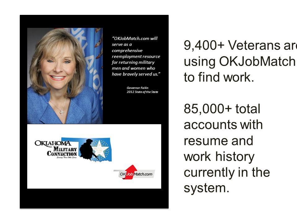 l l job seekers are Veterans.