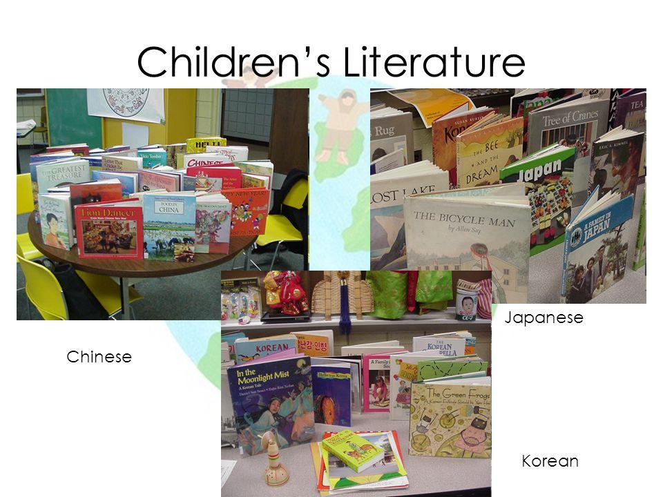 Children's Literature Chinese Japanese Korean