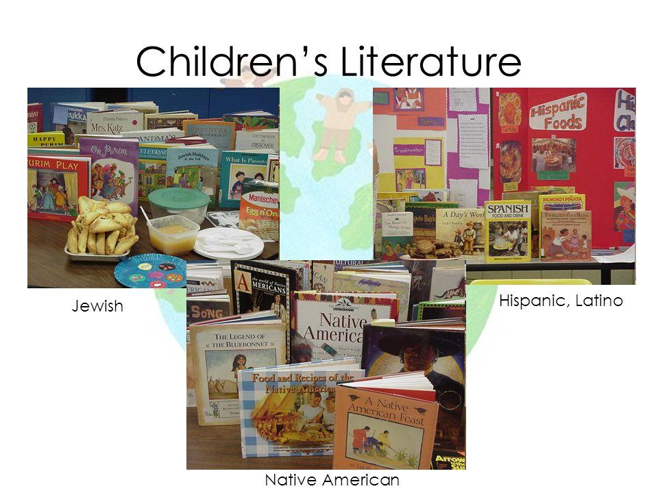 Children's Literature Jewish Hispanic, Latino Native American