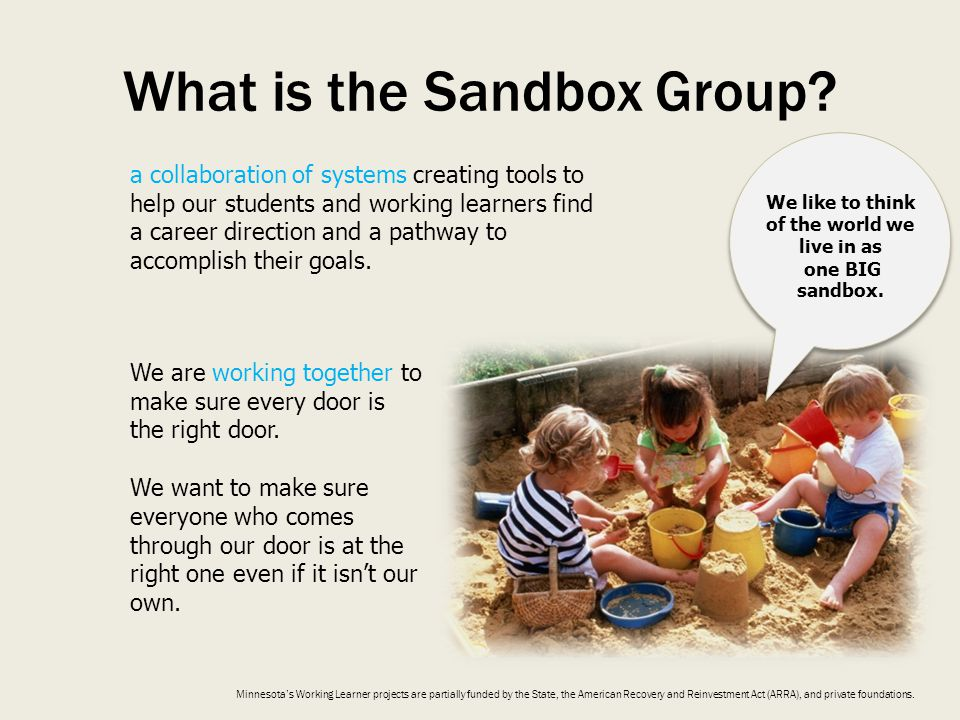 What is the Sandbox Group.
