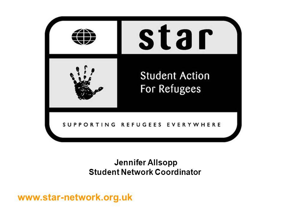 www.star-network.org.uk Jennifer Allsopp Student Network Coordinator