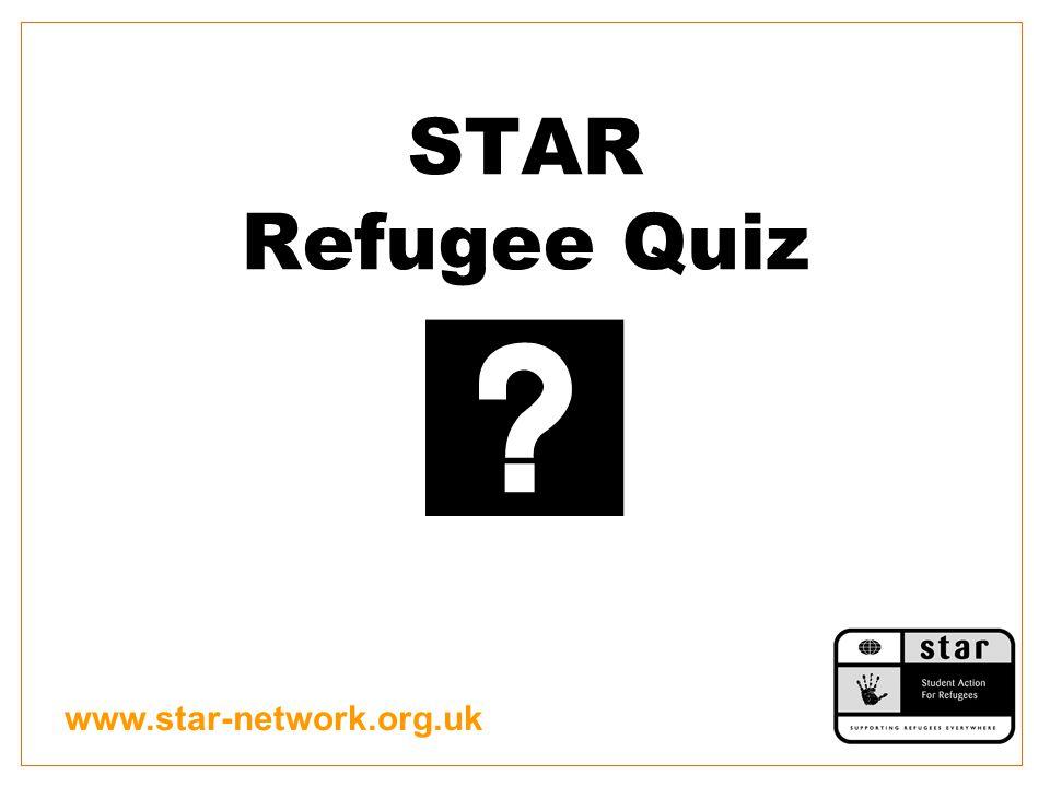 www.star-network.org.uk STAR Refugee Quiz