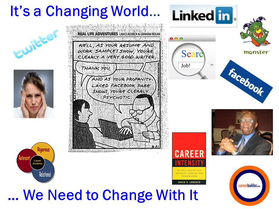 31 It's a Changing World… … We Need to Change With It