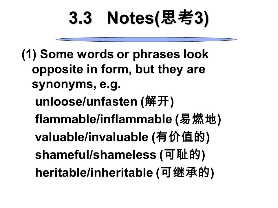 4). Figurative and euphemistic use of words business—biz; to spend—to blow in; an unemployed man—a forgotten man (euphemism); to scold—to call down (e