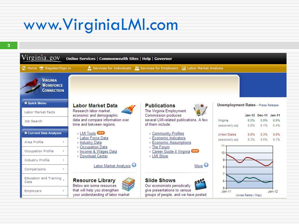 www.VirginiaLMI.com 3