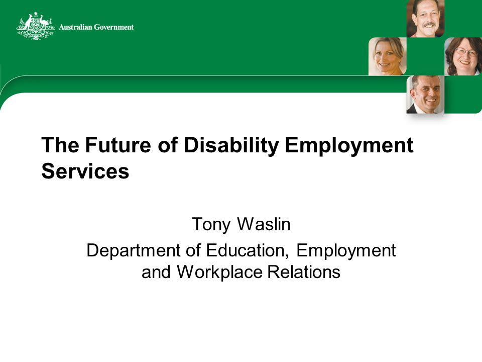 Building Solutions What other key changes would you like in future arrangements for disability employment services?