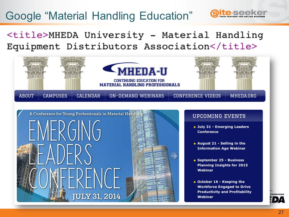 Google Material Handling Education 27