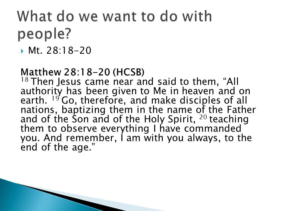 Non-Relational Ministry (Discipling rarely happens because there is no discipleship space)