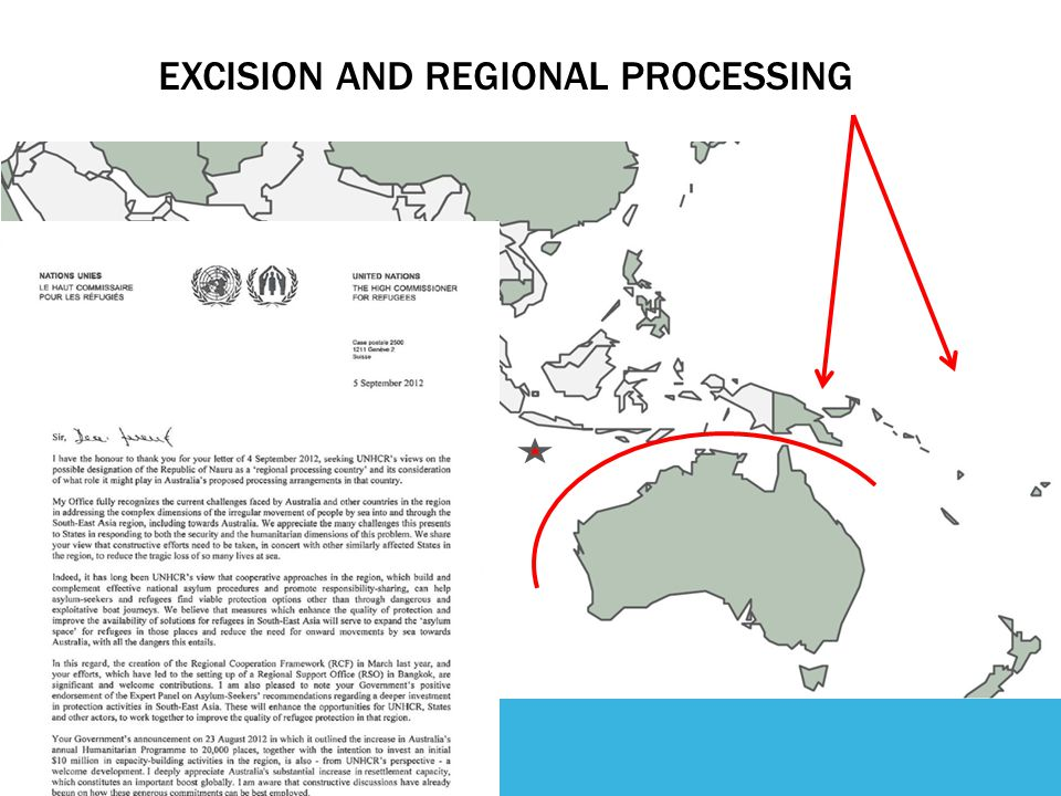 EXCISION AND REGIONAL PROCESSING