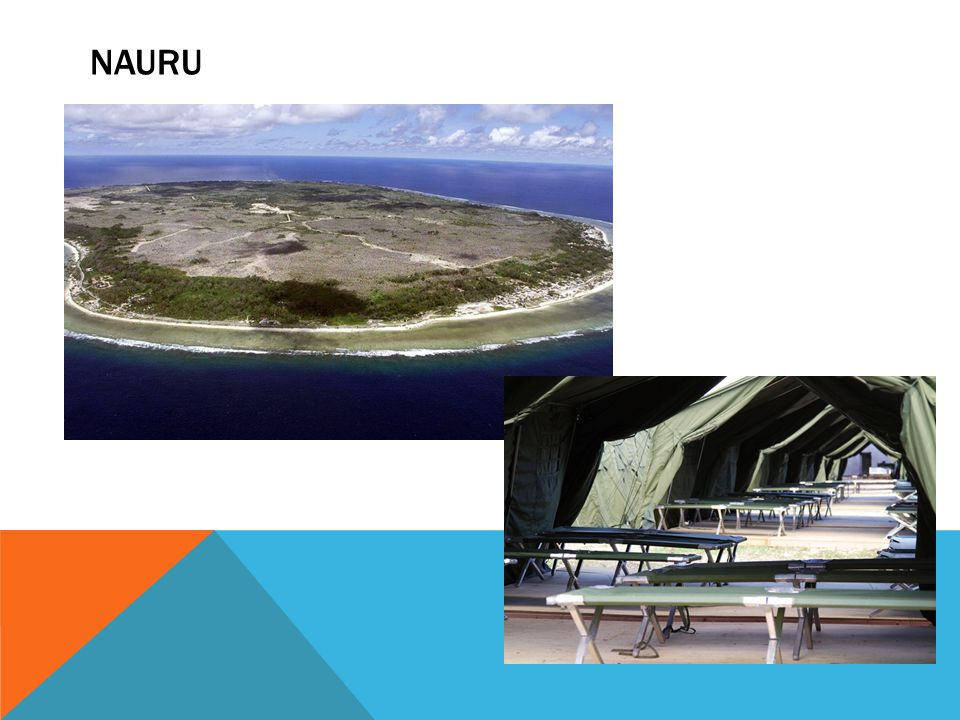 human rights standards (including no arbitrary detention); appropriate accommodation; appropriate physical and mental health services; access to educational and vocational training programs; application assistance during asylum claims; an appeal mechanism monitoring of care and protection arrangements NAURU: PANEL EXPECTS/REQUIRES --