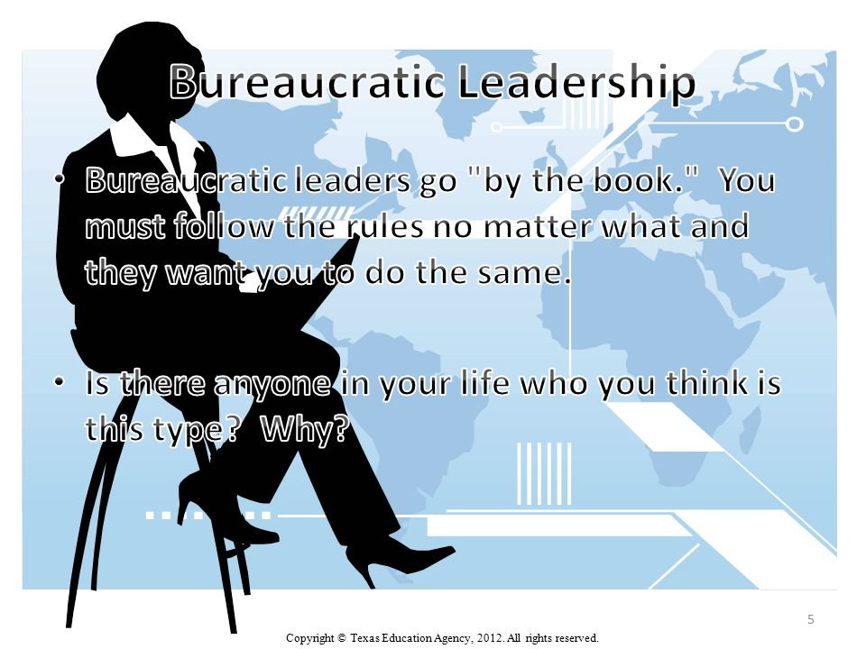Participative Leadership (Democratic) Lewin's study found that participative (democratic) leadership is generally the most effective leadership style.