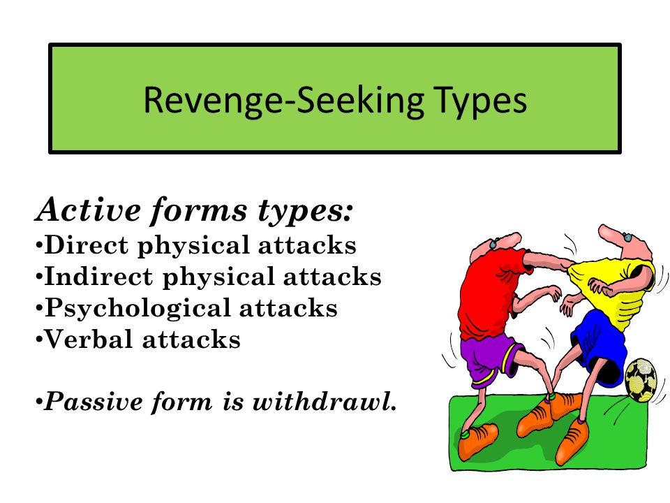 How to Identify Revenge-Seeking Behaviors Clue 1: Your emotional gauge is boiling.