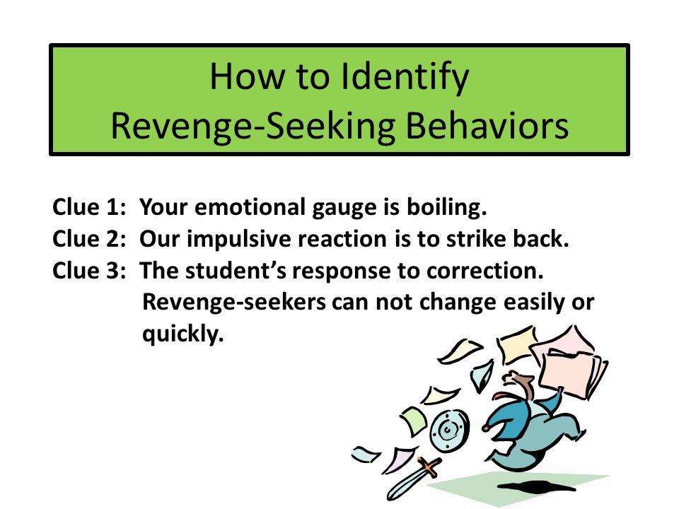 Revenge-Seeking Origins Violence is everywhere. Media. Students' Legitimate Needs
