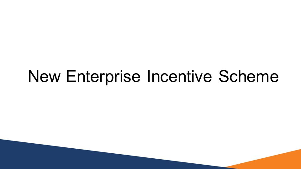 New Enterprise Incentive Scheme