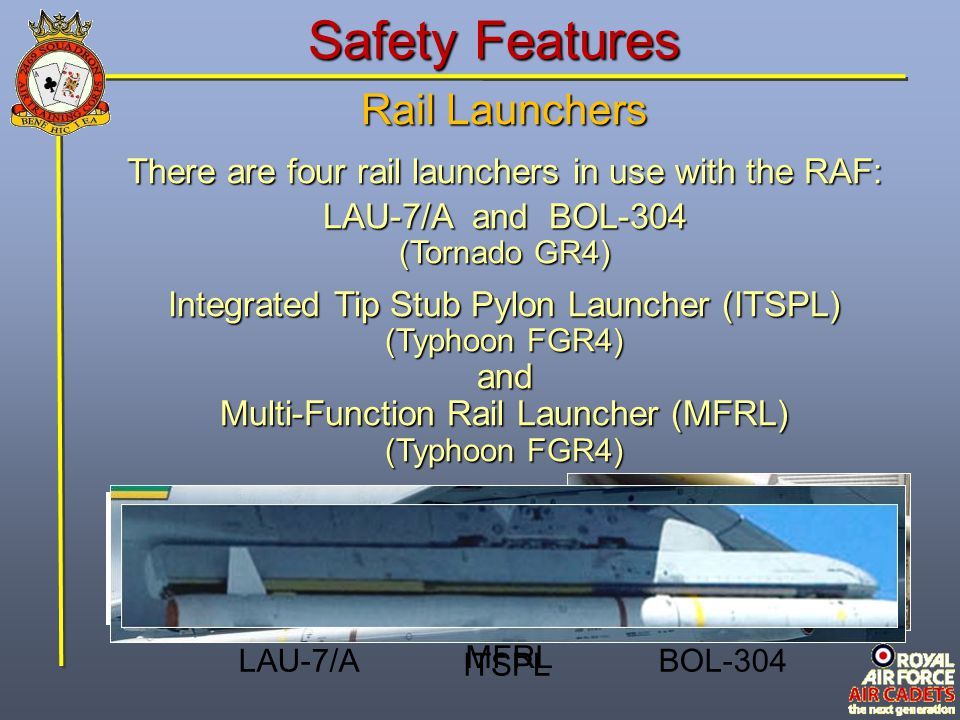 Check of Understanding What causes a missile to be launched from a piloted aircraft.