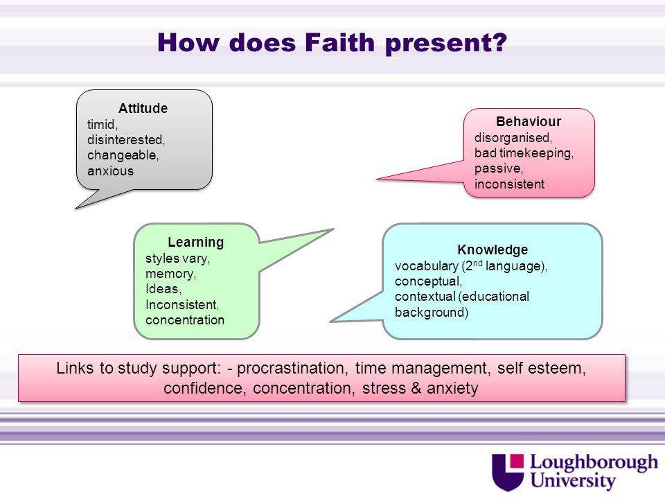 How does Faith present.