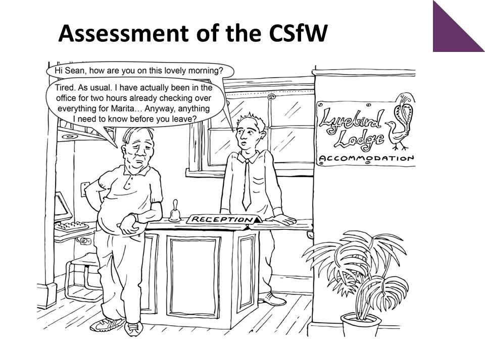 Assessment of the CSfW