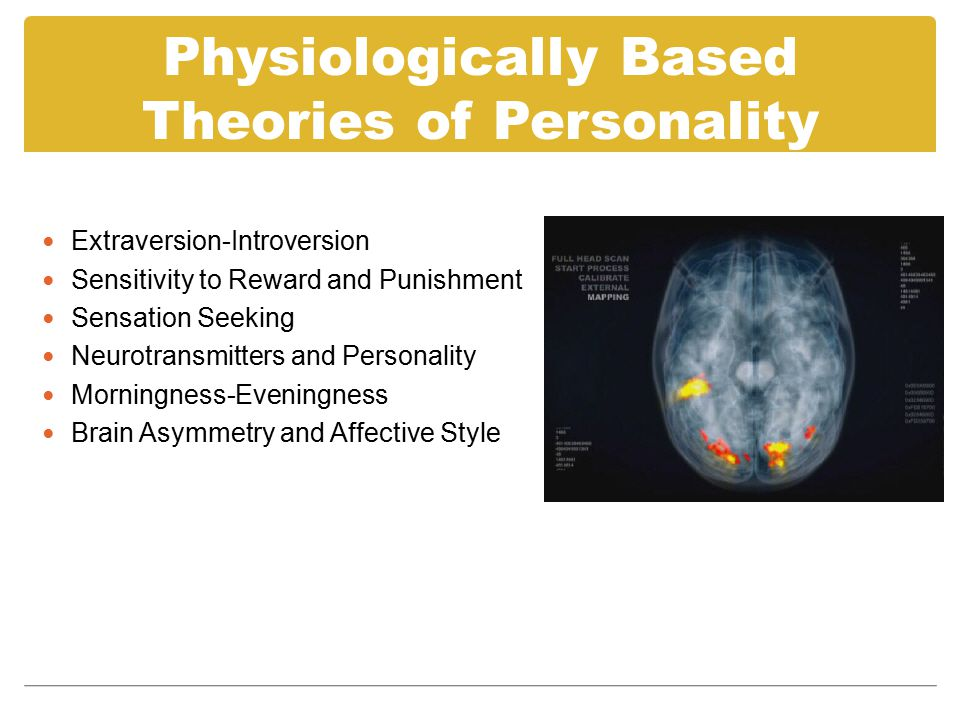 Extraversion-Introversion Measured by Eysenck Personality Questionnaire (EPQ).