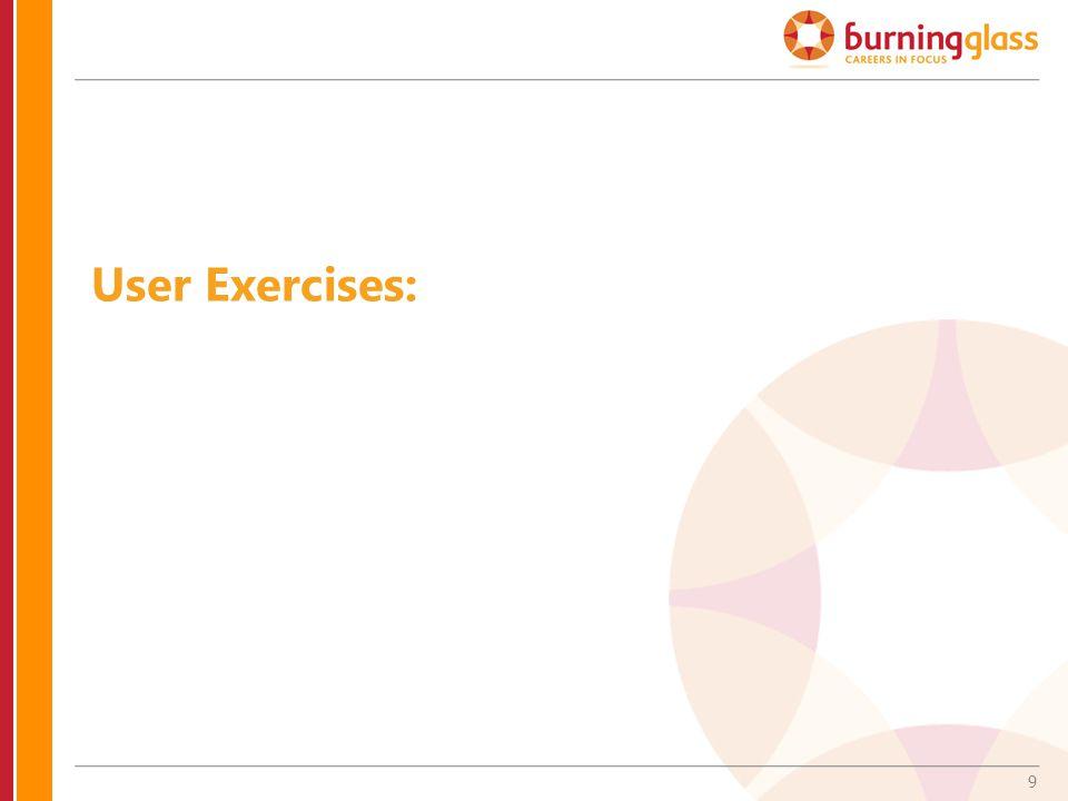 9 User Exercises: