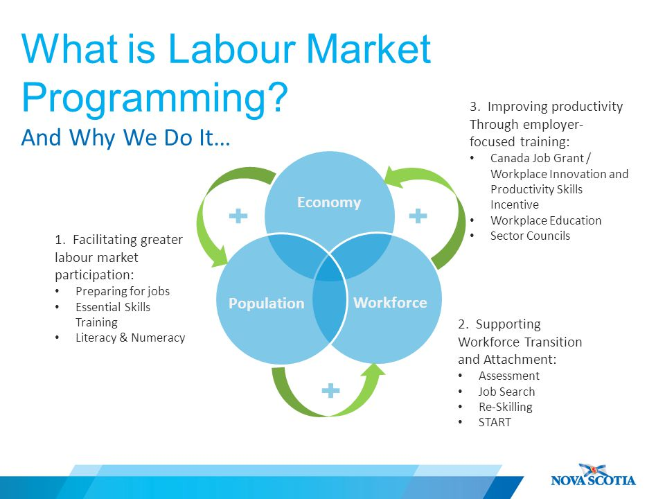 What is Labour Market Programming. And Why We Do It… 3.