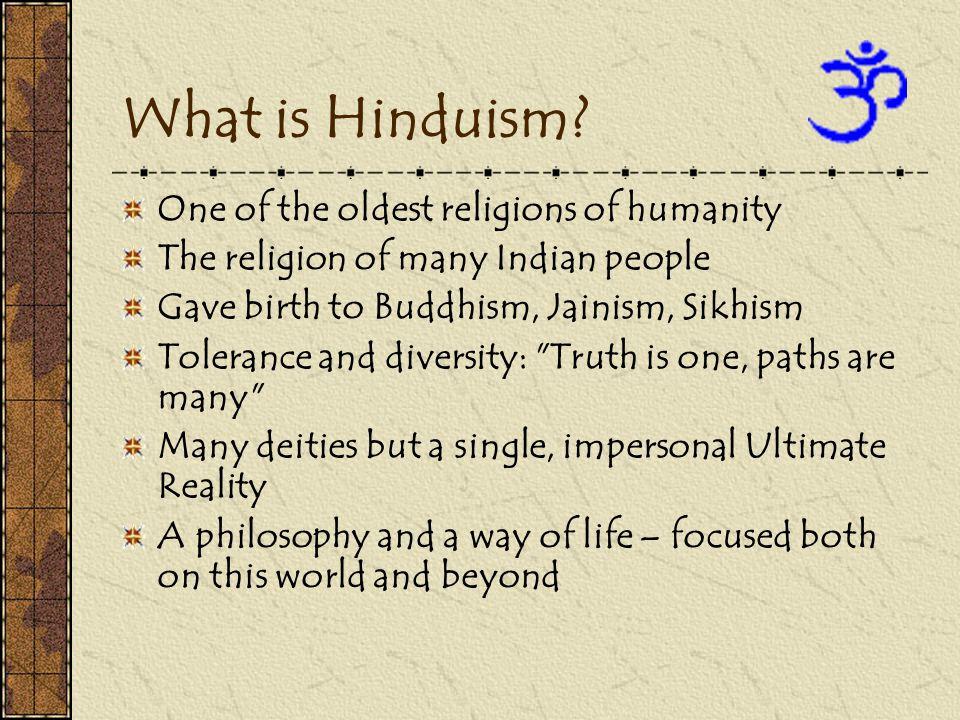 How did Hinduism begin.