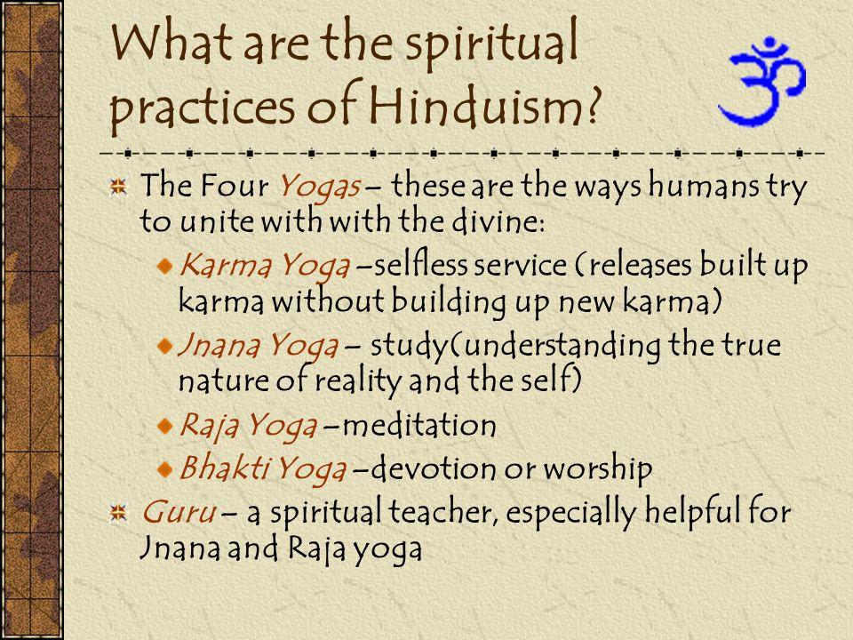 How do Hindus worship.
