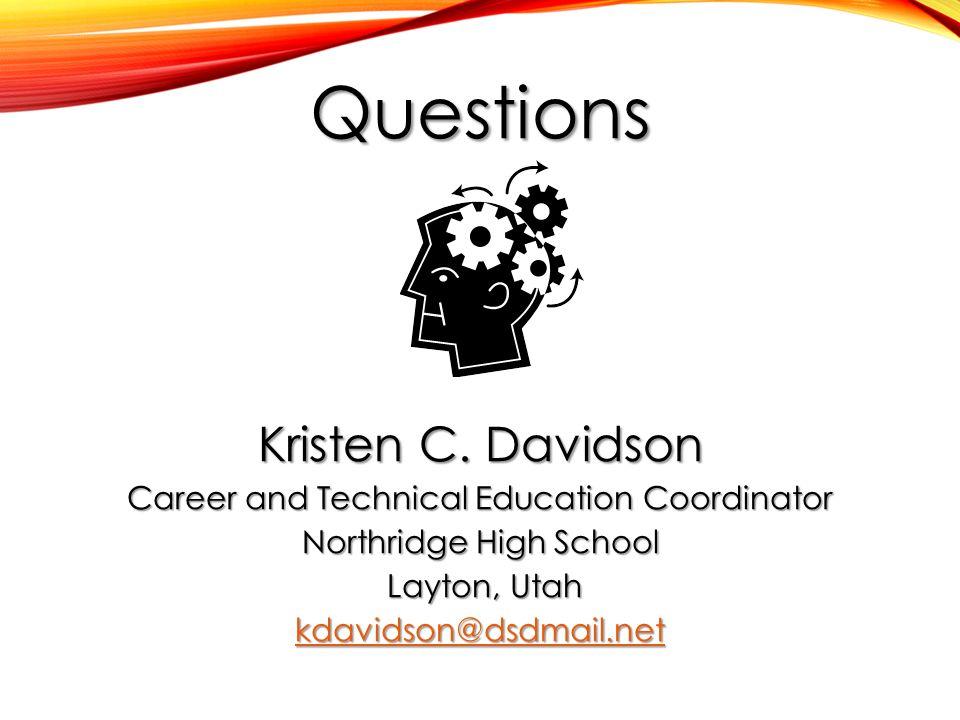 Questions Kristen C.