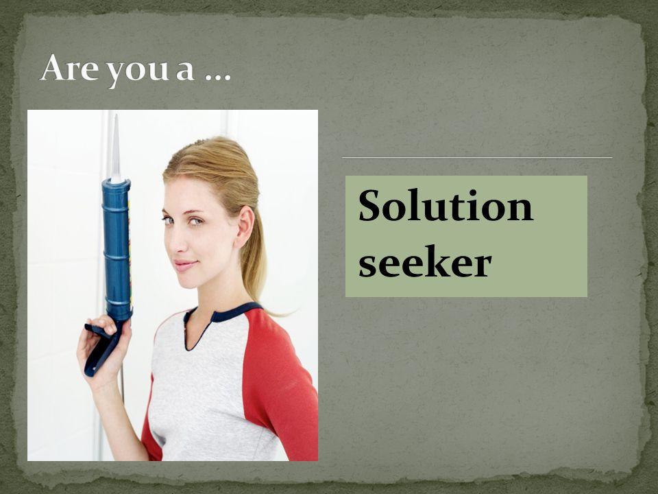 Solution seeker