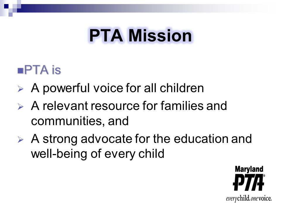  Local units – At the school level, advocacy occurs in the immediate school community  County Councils – Support to Local PTA given in form of information, training, resources, advocacy at the County Government level