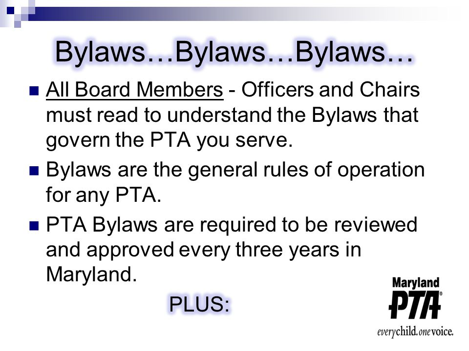 # 9 Make sure that all Board Members are held accountable for their behavior.