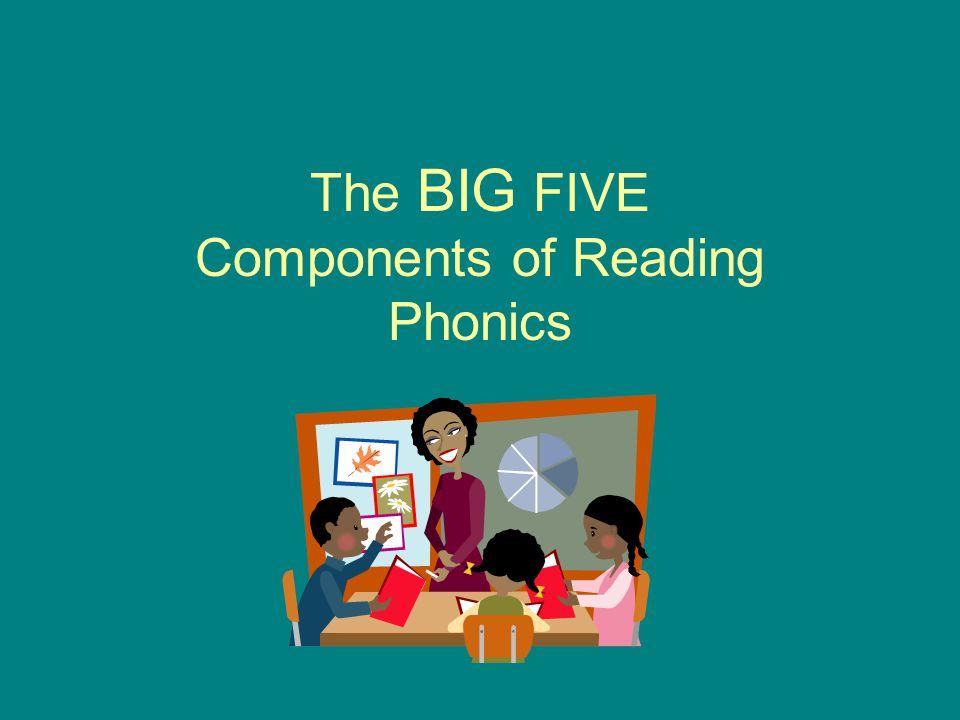 The BIG FIVE Components of Reading Phonics