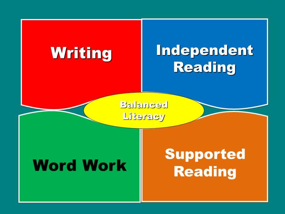 Independent Reading WritingWriting Balanced Literacy