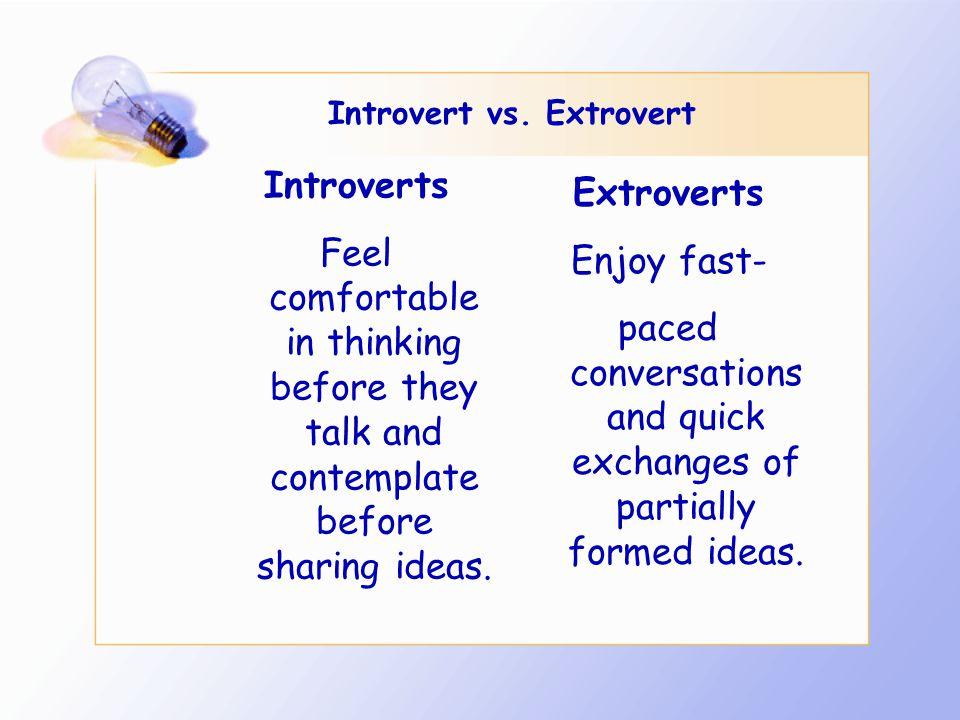 Introvert vs.