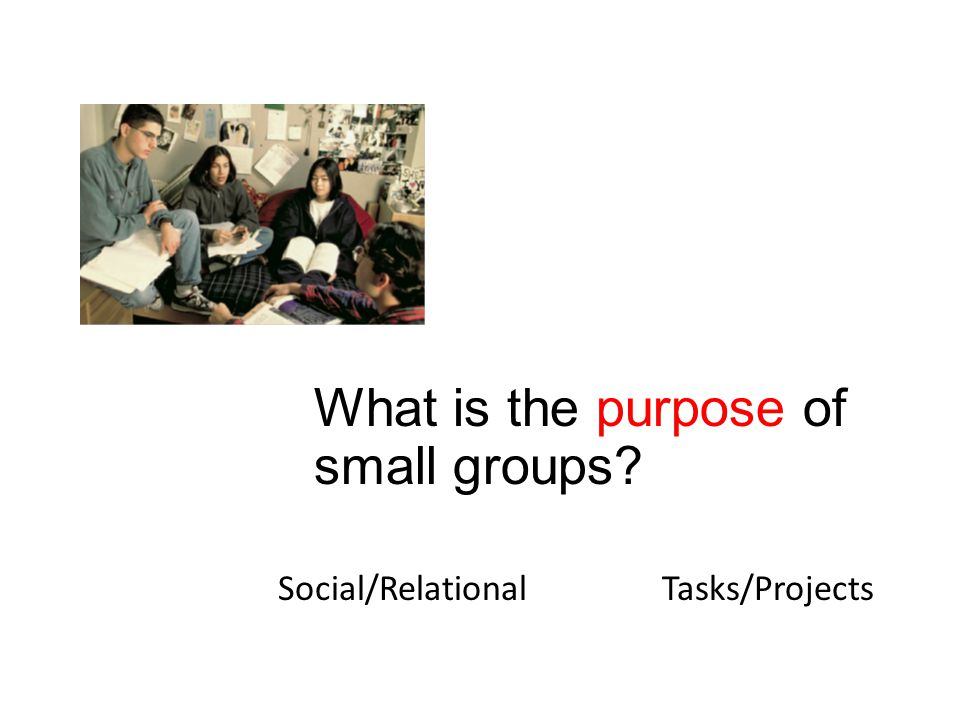 Social/RelationalTasks/Projects