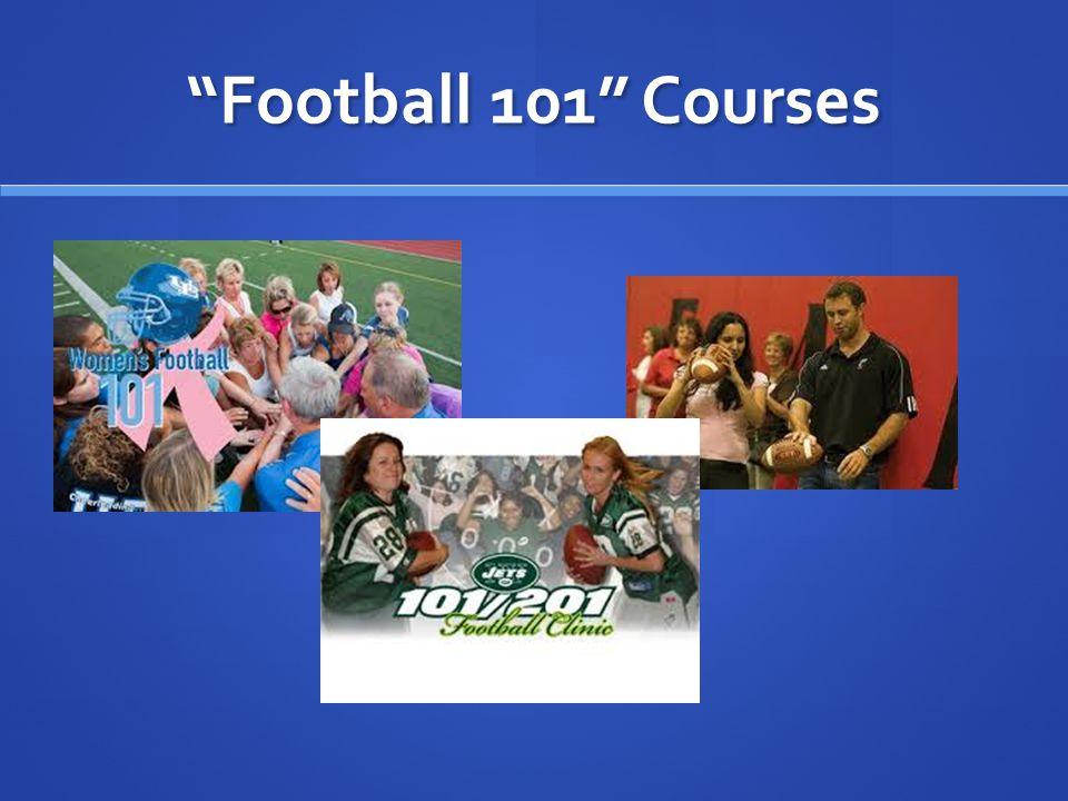 """Football 101"" Courses"