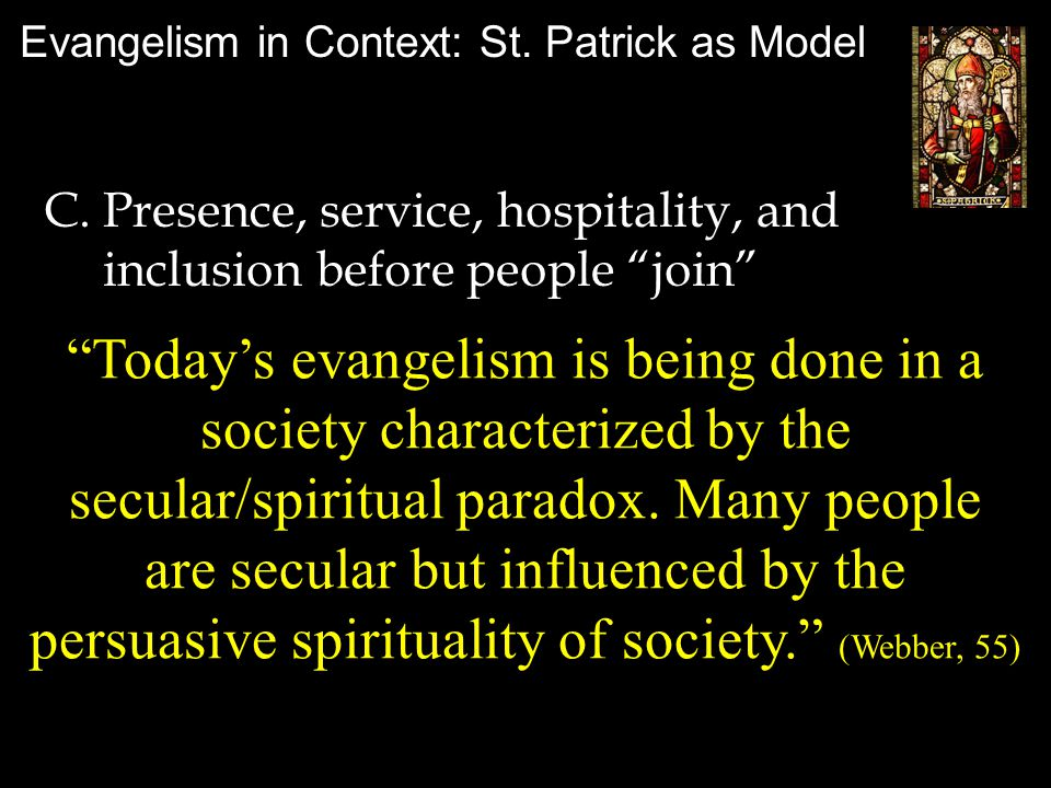 Evangelism in Context: St.