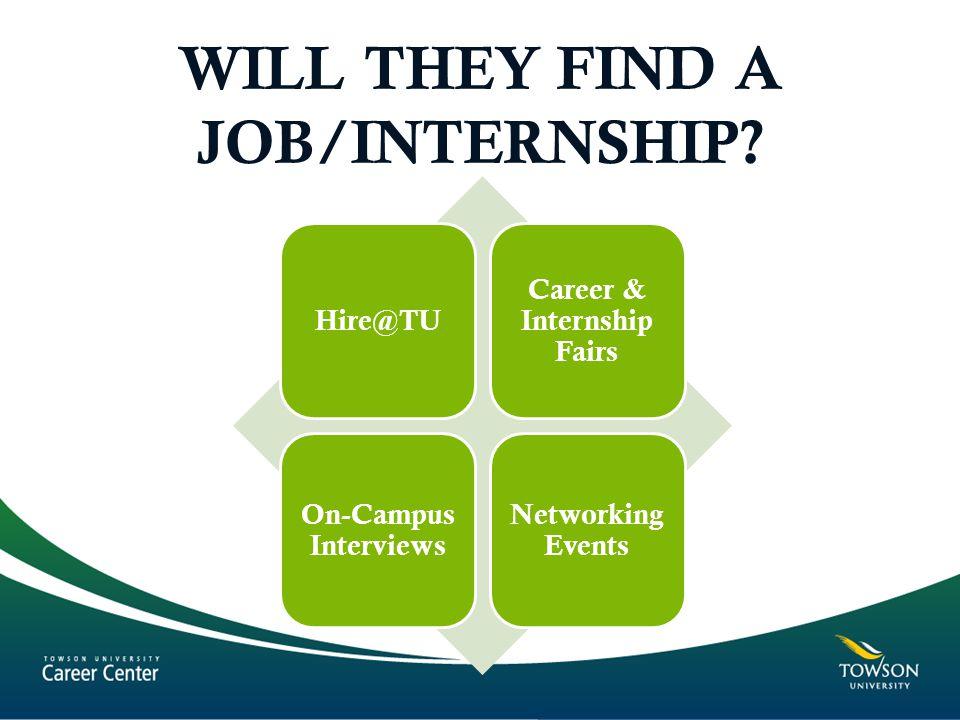 WILL THEY FIND A JOB/INTERNSHIP.