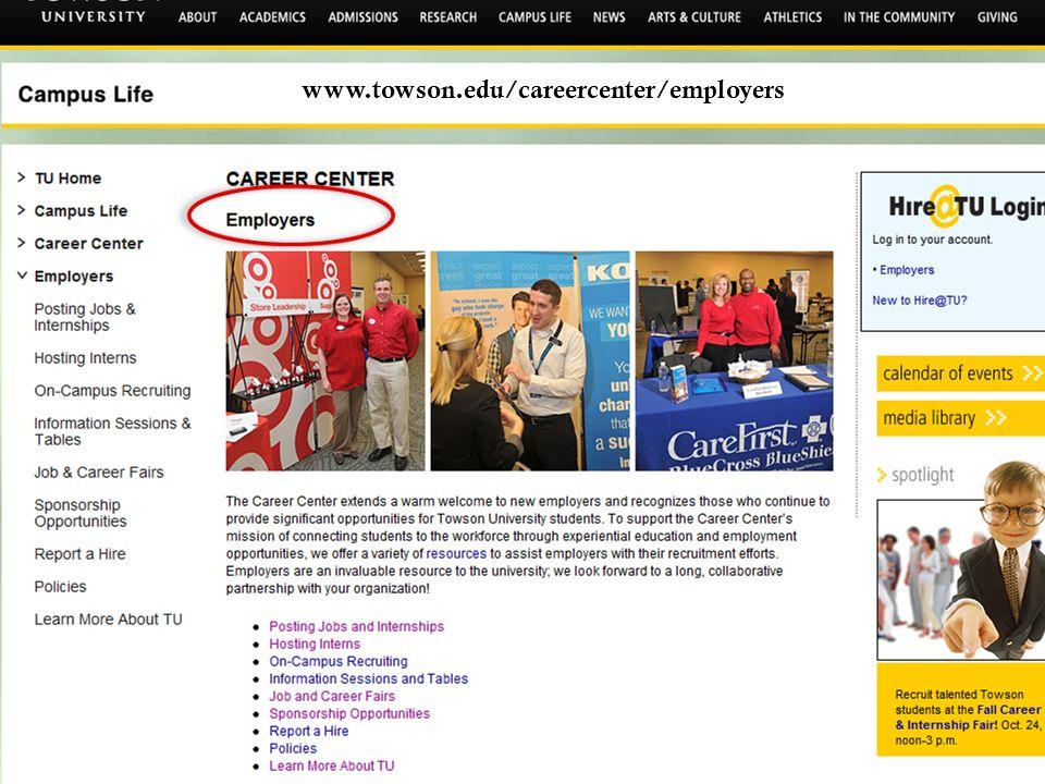 www.towson.edu/careercenter/employers