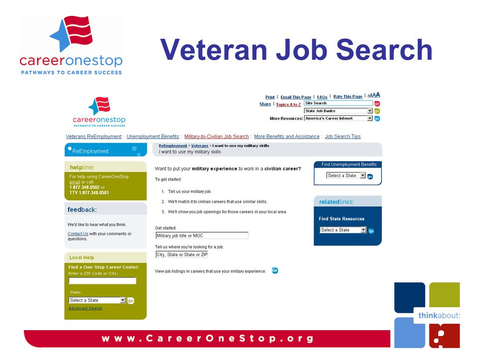 Veteran Job Search
